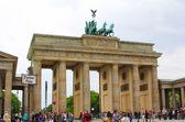 The Brandenburg Gate — Stock Photo
