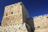 Jaffa Gate Tower — Stockfoto