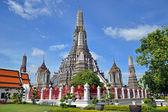 Великая Башня Бангкока - Wat Arun Ratchawararam Ratchawaramahawihan — Stock Photo