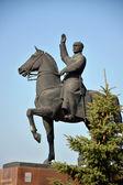 Monument de vorochilov sur un cheval! — Photo