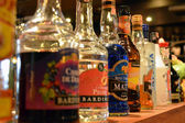 Alcoholic beverages — Stock Photo