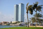 Twin Towers in Ras Al Khaimah — Stock Photo