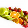Fresh fruits - Stock Photo