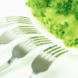 Royalty-Free Stock Photo: Salad with forks