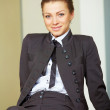Business woman at the office - 图库照片