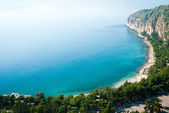 Aegean seashore in Nafplio, Greece — Stock Photo