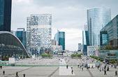La defense, paris büyük iş bölgesinde — Stok fotoğraf