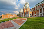 The palace in Tsaritsyno — Stock Photo