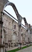 Klášter carmo v lisabonu, portugalsko — Stock fotografie