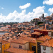 Tile roofs of Porto, Portugal — Stock Photo