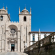 Se do Porto Cathedral in Porto, Portugal — Stock Photo