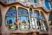 Casa Batllo by Gaudi — Stock Photo