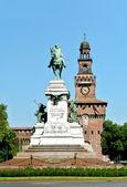 Garibaldi monument — Stock Photo