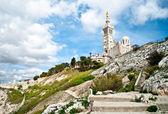 Notre-Dame de la Garde basilica — Stock Photo