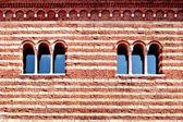 Italian windows — Stock Photo
