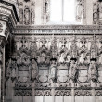 Monastery interior — Stock Photo