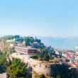 Постер, плакат: City of Nafplion and Bourtzi fortress