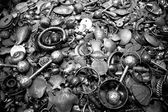 Mercado de prata em muscat, omã — Fotografia Stock