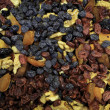 Dried fruit, background - Stock Photo