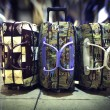 Luggage in airport — Lizenzfreies Foto