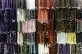 Collares de colores en una pared — Foto de Stock