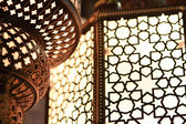 Arabic light - close up — Stock Photo