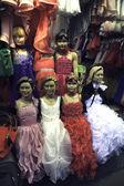 Fashion puppets — Stock Photo