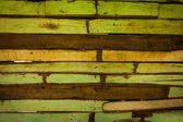 Green Old Wood Background — Stock Photo