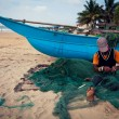 Stock Photo: Fishermon beach, Colombo, Sri Lanka