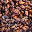 Stock Photo: Dried dates as background