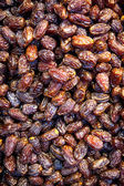 Dried dates as a background — Stock Photo