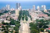 Havana, aerial — Stock Photo