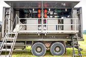 Portable military decontamination system — Stock Photo