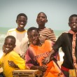 Постер, плакат: Smiling children in Senegal Africa