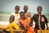 Smiling children in Senegal, Africa — Stock Photo