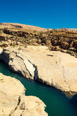Natural pool in Wadi Bani Khalid, Sultanate Oman — Stock Photo