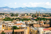Nicosia aerial view — Stock Photo