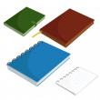 Stock Vector: Notepads