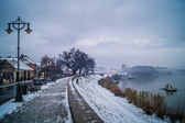 Winter on the Danube — Stock Photo