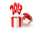 2013 in box — Stock Photo