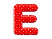 Alphabet E — Stock Photo
