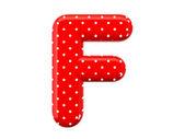 Alphabet F — Stock Photo
