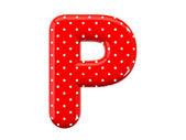 Alphabet P — Stock Photo