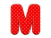 Alfabeto m — Foto Stock