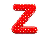Alphabet Z — Stock Photo