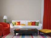 Colorful interior — Stock Photo