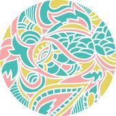 Oosterse patroon — Stockvector