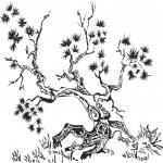 Art tree — Stock Vector #34800793