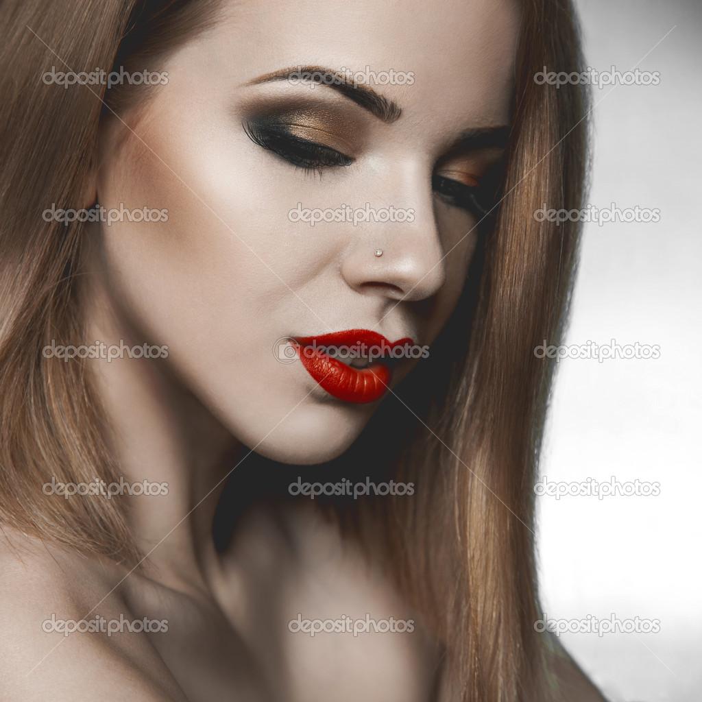 sensuell kvinna