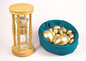 Time is gold — Stock Photo